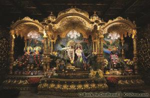 ISKCON New Vrindaban Radha Vrindaban Chandra