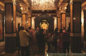 ISKCON New Vrindaban Prabhupada's Palace of Gold