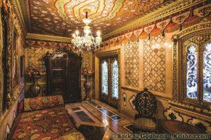 SKCON New Vrindaban Prabhupada's Palace of Gold