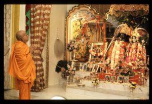 Prabhupada Radha Govinda Henry Street 1973
