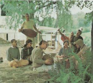 ISKCON New Vrindaban Kirtan Bahulaban 1973 Radhanath Swami