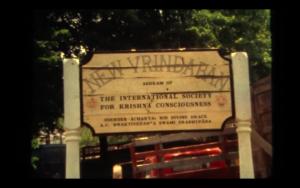 New Vrindaban ISKCON Bahulaban Welcome Sign