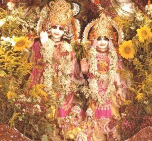 Radha Vrindaban Chandra Bahulaban altar New Vrindaban