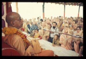 Prabhupada ISKCON New Vrindaban Bhagavat Dharma 1972