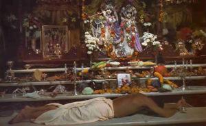 ISKCON New Vrindaban Radha Vrindaban Chandra Bahulaban Offering Altar