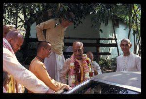 Prabhupada New Vrindaban ISKCON 1974 Bahulaban