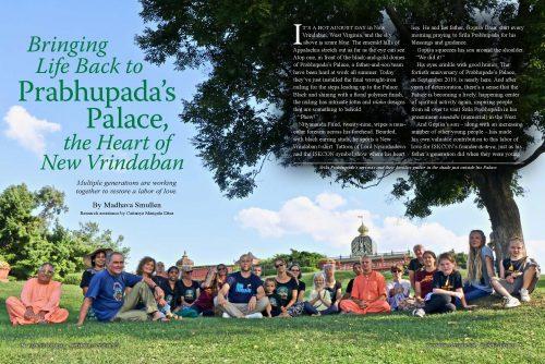 Prabhupada's Palace ISKCON Back to Godhead Anniversary